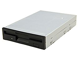 Bytecc BT-145 1.44 MB 3.5-inch Floppy Disk Drive, Black bezel