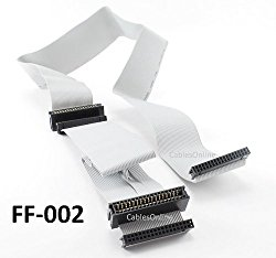 CablesOnline 36 inch Universal Floppy Drive Ribbon Cable for 3.5 or 5.25in Drives, (FF-002)