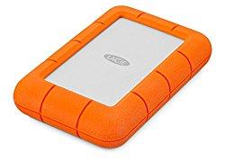 LaCie Rugged Mini USB 3.0 / USB 2.0 4TB External Hard Drive (9000633)