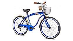 Margaritaville Mens Coast Is Clear 7 Speed Cruiser Bike