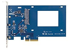 OWC Accelsior S PCIe to 2.5″ 6Gb/s SATA SSD Host Adapter