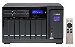Qnap 12 Bay NAS/iSCSI IP-SAN, Intel Skylake Core i7-6700 3.4 GHz Quad Core (TVS-1282-i7-32G-US)