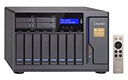 Qnap 12 Bay Thunderbolt 2 Das/NAS/iSCSI Ip-San, Intel Skylake Core i7 3.4GHz Quad Core (TVS-1282T-i7-32G-US)