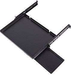 Sliding Keyboard Shelf for 16″ Keyboards – 19″ Rack-Mountable