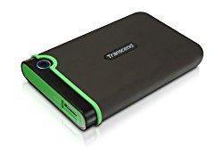 Transcend 1 TB StoreJet M3 Military Drop Tested USB 3.0 External Hard Drive (TS1TSJ25M3)