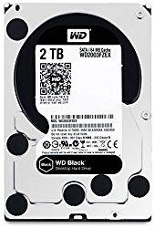 WD Black 2TB Performance Desktop Hard Disk Drive – 7200 RPM SATA 6 Gb/s 64MB Cache 3.5 Inch  – WD2003FZEX