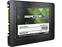 Mushkin REACTOR 500GB Internal Solid State Drive (SSD) 2.5 Inch SATA III 6Gbit/s MLC 7mm MKNSSDRE500GB