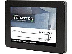 Mushkin TRIACTOR-3D – 1TB Internal Solid State Drive (SSD) – 2.5 Inch – SATA III – 6Gb/s – 3D Vertical TLC – 7mm – MKNSSDTR1TB-3D