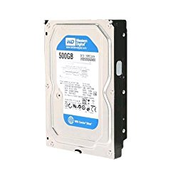 WESTERN DIGITAL WD5000AAKX Caviar Blue 500GB 7200 RPM 16MB cache SATA 6.0Gb/s 3.5″ internal hard drive WD500AAKX OEM
