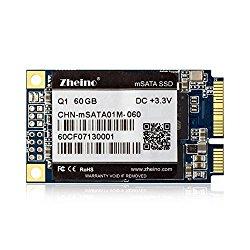 Zheino Q1 Msata 60gb SSD (3050mm) Solid State Drive for Mini Pc Tablet Pc