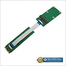 mSATA SSD to M.2 (NGFF) Adapter Card with FFC Cable