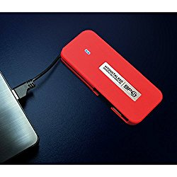 MyDigitalSSD BP5 SuperSpeed USB 3.0 UASP Compliant Mobile SSD with Integrated USB Cable (512GB)