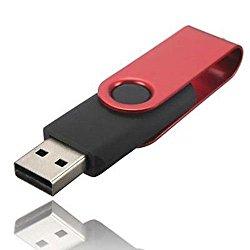 1TB USB Flash Drive USB 2.0 Flash Memory Stick Fold Storage Thumb Stick Pen Red