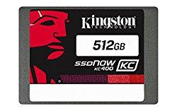 Kingston Digital 512GB KC400 SSD C2C 2.5″ Solid State Drive (SKC400S37/512G)