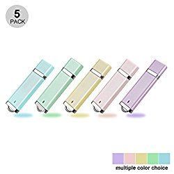 KOOTION 5PCS 16GB USB2.0 Flash Drive Thumb Drives Memory Stick – 5 Colors (Blue, Green, Pink, Purple, Yellow,)