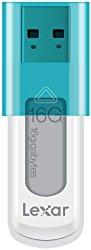 Lexar JumpDrive S50 16GB USB Flash Drive LJDS50-16GABNL (Teal)