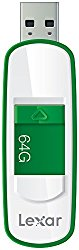 Lexar JumpDrive S75 64GB USB 3.0 Flash Drive – LJDS75-64GABNL (Green)
