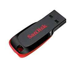 SanDisk Cruzer Blade 64GB USB 2.0 Flash Drive- SDCZ50-064G-B35