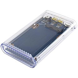 OWC Mercury On-The-Go Portable 2.5″ FW800/USB3.0 Enclosure Kit for Serial ATA (SATA)