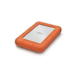 La Cie Rugged Mini USB 3.0 / USB 2.0 1TB Portable Hard Drive LAC301558