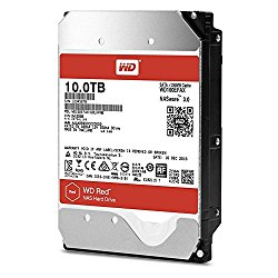WD Red 10TB NAS Hard Disk Drive – 5400 RPM Class SATA 6 Gb/s 256MB Cache 3.5″ – WD100EFAX
