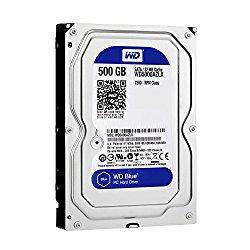 Western Digital Internal Hard Drive 500 SATA_6_0_gb 32 MB Cache 3.5″ Internal Bare or OEM Drives WD5000AZLX
