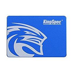 KingSpec SSD 60GB 2.5″ SATA3 Internal Solid State Hard Drive for Desktop, Laptop, Mac (T-60)