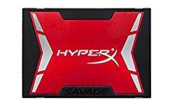 Kingston HyperX Savage 240GB SSD SATA 3 2.5 (7mm height) Solid State Drive Bundle Kit (SHSS3B7A/240G)