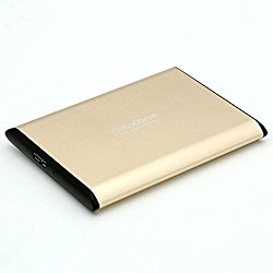2.5″ 500GB/500G Ultra Slim Portable External Hard Drive USB 3.0 for Laptop/Desktop/Xbox one/ Ps4 (500GB)