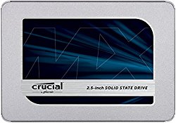 Crucial MX500 1TB 3D NAND SATA 2.5 Inch Internal, Frustration-Free Packaging-  SSD – CT1000MX500SSD1(Z)