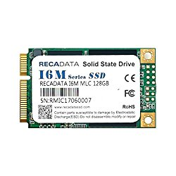 RECADATA mSATA III MLC Industrial Grade Enterprise Class Solid State Drive SSD (64GB)
