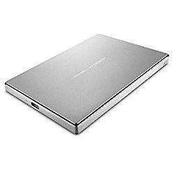LaCie Porsche Design 1TB USB-C Mobile Hard Drive STFD1000400 – Silver