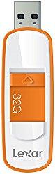 Lexar JumpDrive S75 32GB USB 3.0 Flash Drive – LJDS75-32GABNL (Orange)
