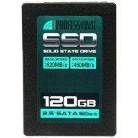 Inland Professional 120GB SATA III 6Gb/s 2.5″ Internal Solid State Drive (120GB)