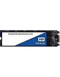 WD Blue 3D NAND 500GB PC SSD – SATA III 6 Gb/s M.2 2280 Solid State Drive – WDS500G2B0B