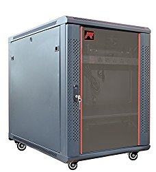 15U 35″ Deep 19″ It Server Rack Cabinet Enclosure. FITS MOST SERVER EQUIPMENT. Accessories Free!!