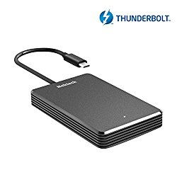 [Certified] Nekteck 480GB Thunderbolt 3 SSD NVME Hard Drive, External Hard Disk Speed Up to 2300 MB/s Read (Not Compatible with USB-C)