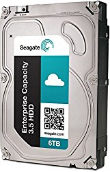 Seagate Enterprise Capacity 3.5 HDD 6TB 7200RPM 12Gb/s SAS 128 MB Cache Internal Bare Drive ST6000NM0034