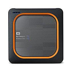 WD 500GB My Passport Wireless SSD External Portable Drive – WIFI USB 3.0 –WDBAMJ5000AGY-NESN