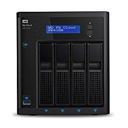 WD Diskless My CloudPro Series PR4100 Network Attached Storage – NAS – WDBNFA0000NBK-NESN