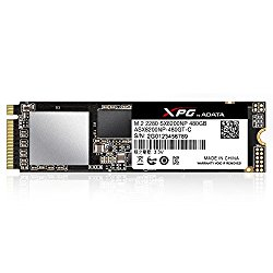 XPG SX8200 480GB 3D NAND NVMe Gen3x4 M.2 2280 Solid State Drive (ASX8200NP-480GT-C)