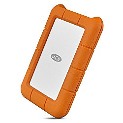 LaCie Rugged Secure 2TB USB-C All-Terrain Encrypted Portable Hard Drive + 1mo Adobe CC All Apps (STFR2000403)
