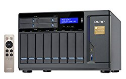 Qnap 12 Bay Thunderbolt 2 Das/NAS/iSCSI Ip-San Solution, Intel Core i5 3.6GHz Quad Core (TVS-1282T-i5-16G-US)
