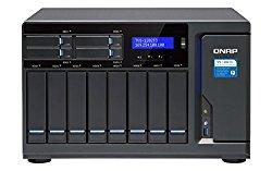 Qnap TVS-1282T3 Ultra-High Speed 12 bay (8+4) Thunderbolt 3 NAS/iSCSI IP-SAN. Intel 7th Gen Kaby Lake Core Thunderbolt3 port x 4 and 10Gbase-T x 2