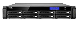 Qnap VS-8140U-RP-PRO+ All-In-One 8-Bay NVR Server for SMB and Enterprise Intel Core i3-2120 Processor 3.3 GHz 2U Rackmount