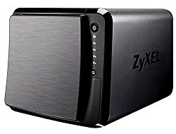 ZyXEL [NAS540] 12TB Personal Cloud Storage [4-Bay] for Home with iOS & AndroidRemote Access and Media Streaming (Built-In 4x 3TB Enterprise NAS HDD) – Retail