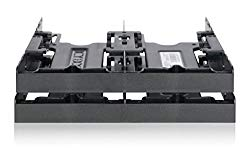 "ICY DOCK 4 x 2.5"" HDD/SSD Bracket Mount Kit Adapter for 5.25"" Drive Bay – FLEX-FIT Quattro MB344SP"