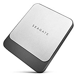 Seagate Fast SSD 500GB High-Speed External Solid State Drive up to 540MB/s Reversible USB-C to Type-C/Type-A Cables Mac/PC | STCM500401