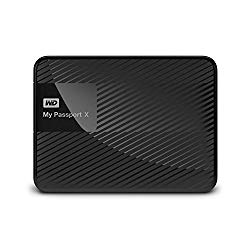 WD 3TB My Passport X for Xbox One Portable External Hard Drive – USB 3.0 – WDBCRM0030BBK-NESN