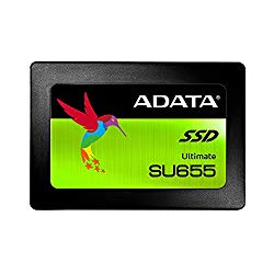 ADATA SU655 120GB 3D NAND 2.5 inch SATA III High Speed Read up to 520MB/s Internal SSD (ASU655SS-120GT-C) [New Version]